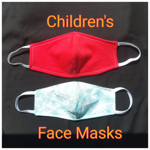 8-12 Years CHILDREN'S Reusable Face Masks