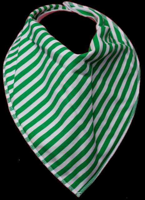 Emerald Bandana Bib - Size 3