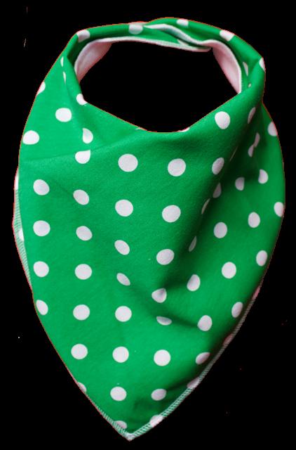 Green Tea Bandana Bib - Size 2