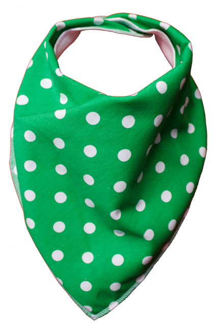 Green Tea Bandana Bib - Size 1