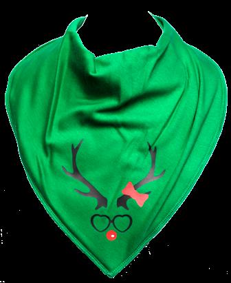 Miss Reindeer Bandana - Size 3 & 4