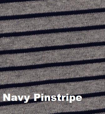 What A Gent Waistcoast Bib  - Navy Pinstripe