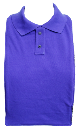 Children's School Polo T-Shirt Style Bibs - Size Junior 1 - Available in 8 Colours