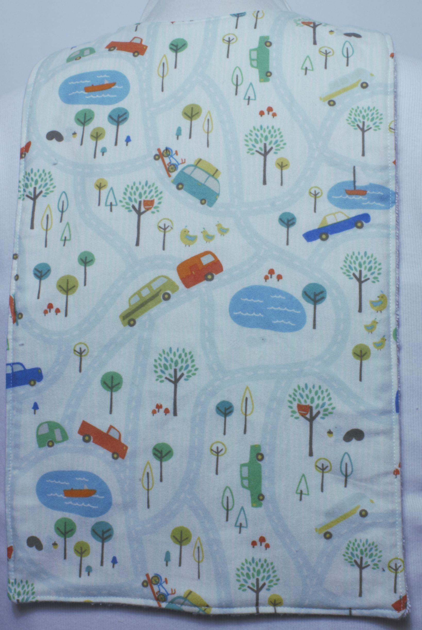Childrens Flat Style Long Length Clothing Protector - On the Street