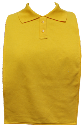 Children's School Polo T-Shirt Style Bibs - Size Junior 2 - Available in 9 Colours