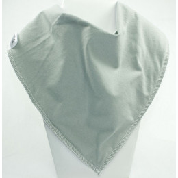 Hurray for Grey Bandana Bib - Size 1