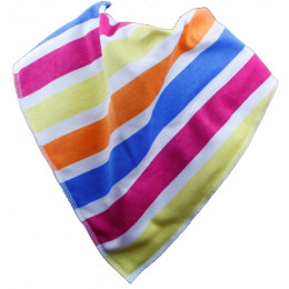Stick of Rock Bandana Bib - Size 1