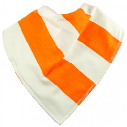 Orange Dream Bandana Bib - Size 3