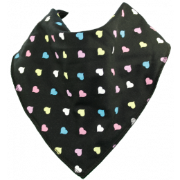 Blackheart Bandana Bib - Size 3