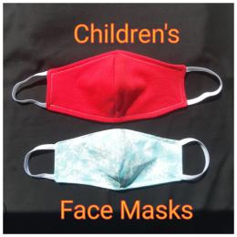 8-12 Years CHILDREN'S Reusable Face Masks