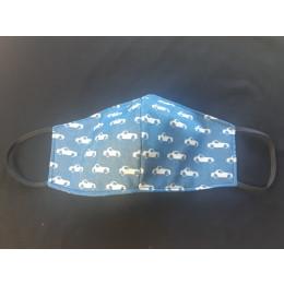 Reusable Face Masks - Cars