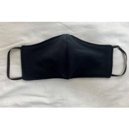 Reusable Face Masks -  Plain Black
