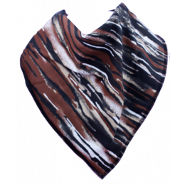 Funky Tiger Bandana Bib - Size 1