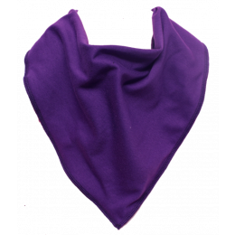 Grape Juice Bandana Bib  - Size 3