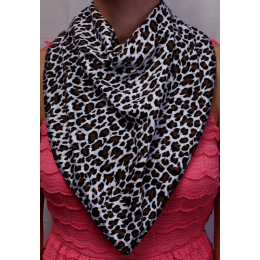 Jungle Fever Bandana Bib - Size 4
