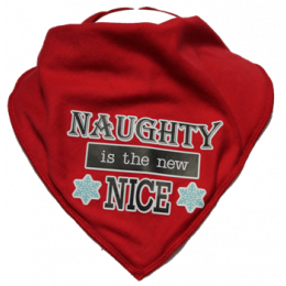 Naughty is the New Nice - Size 1 - RED