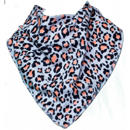 Neon Jungle Bandana Bib - Size 1