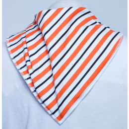 **LIMITED EDITION** Orange Slice Bandana Bib - Size 3