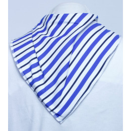 **LIMITED EDITION** Royal Stripe Bandana Bib - Size 2