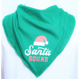 Santa Squad Bandana - Size 1 & 2