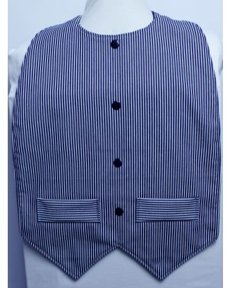Clancy Waistcoat Style - Extra Protect Long Length Clothing Protector