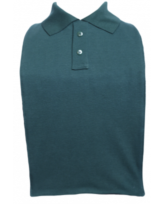Green Polo T-Shirt Style Clothing Protector