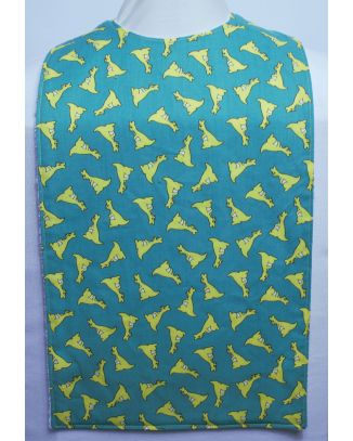 Childrens Flat Style Long Length Clothing Protector - Kangeroo GREEN