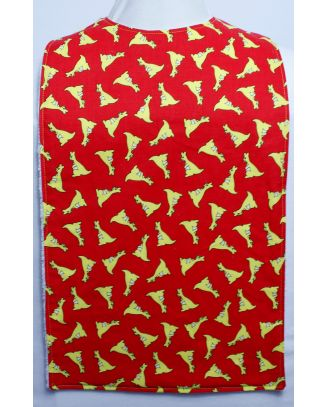 Childrens Flat Style Long Length Clothing Protector - Kangeroo RED