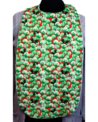 Christmas Sprouts Long Length Clothing Protector
