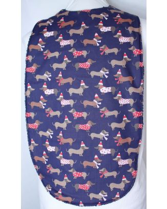 Christmas Dachshund Long Length Clothing Protector
