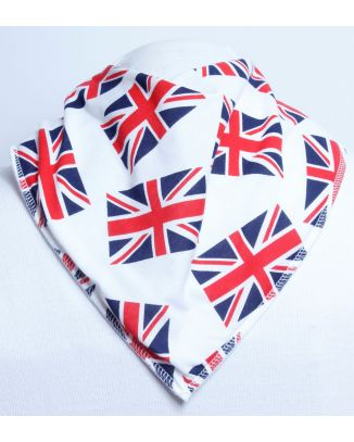 Fly the Flag Bandana Bib - Size 1