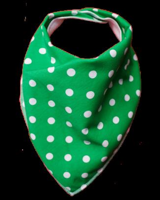 Green Tea Bandana Bib - Size 1