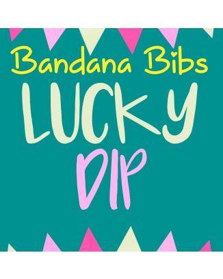 Size 2 Lucky Dip - 10 x Bandana Bibs