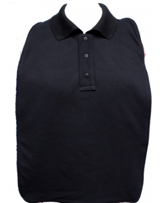 Black Polo T-Shirt Style Clothing Protector