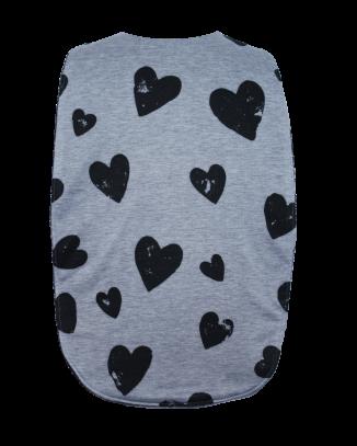 Marley Hearts Flat Style Long Length Clothing Protector