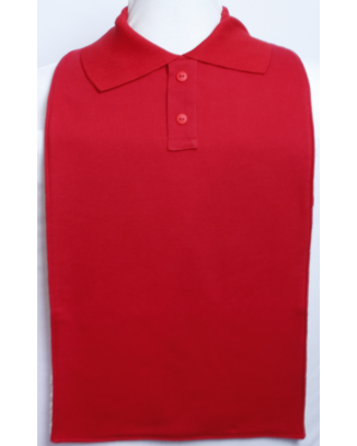 Red Polo T-Shirt Style Clothing Protector