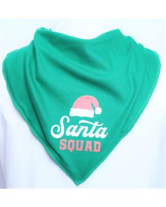Santa Squad Bandana - Size 3 & 4